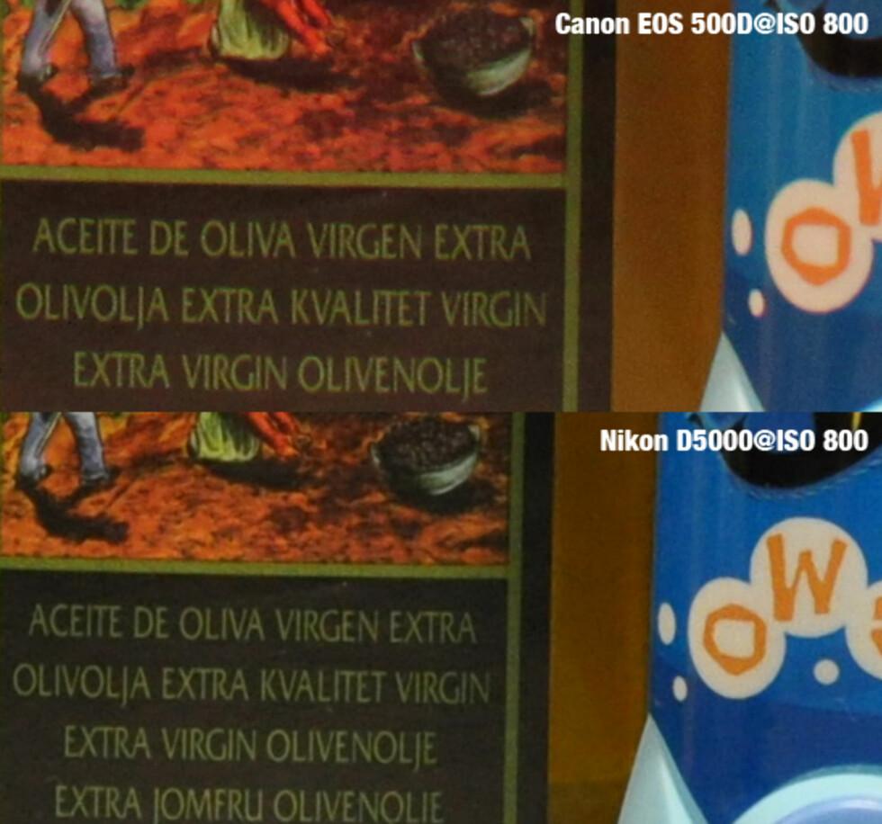 Canon EOS 500D vs Nikon D5000