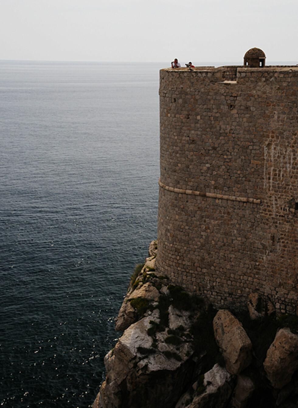 Det var spesielt tyrkerne Dubrovnik måtte speide etter i gamle dager. Foto: Hans Kristian Krogh-Hanssen