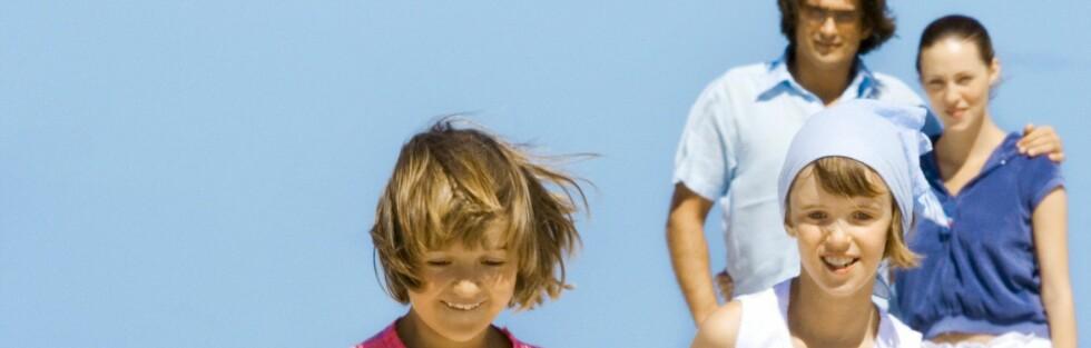 Det er ikke alle som synes det er avslappende med familieferie. Foto: COLOURBOX.COM