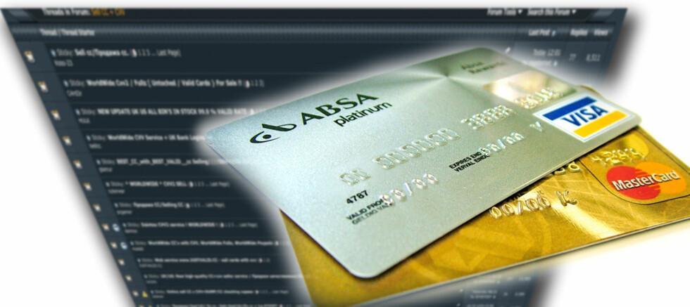 Kjøper og selger stjålne kredittkort