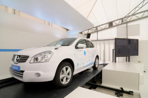 Better Place's Nissan Rogue klar for batteribytte