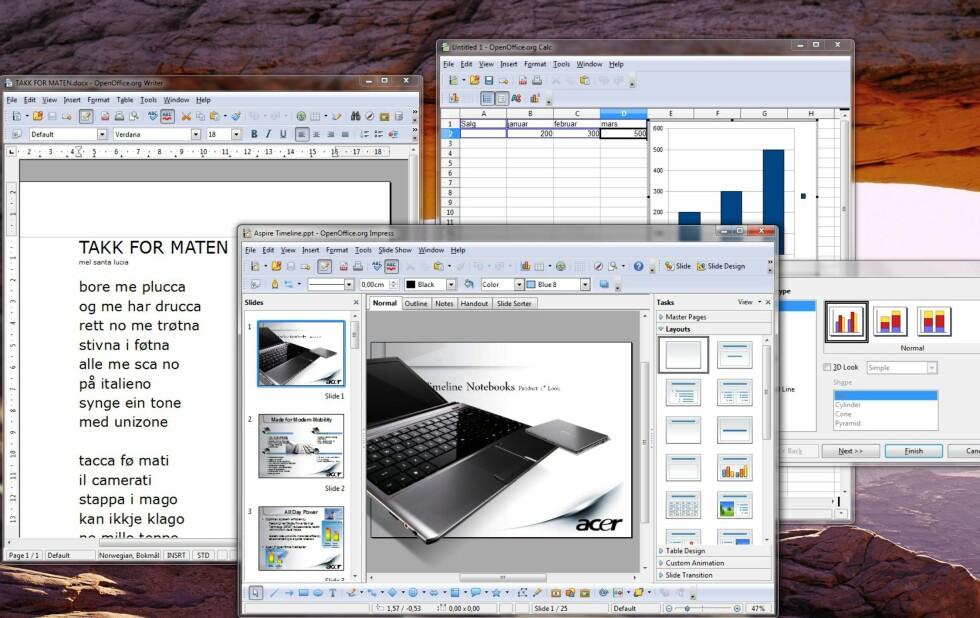 Ny OpenOffice.org er klar - på norsk