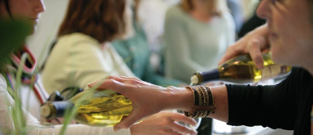 Prøvesmaking i Murphy Goodes Winery blir en av oppgavene for en heldig jobbsøker. Foto: Murpy-Goode
