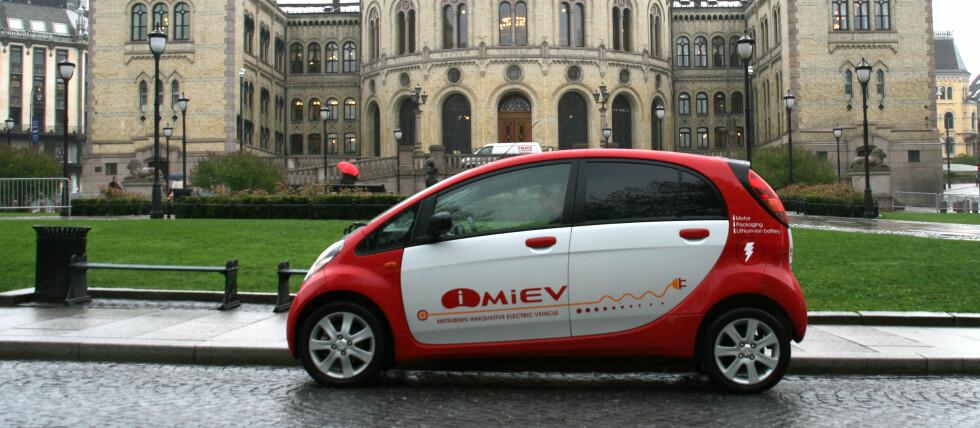 Interessen for el-biler er stor. I bygget i bakgrunnen venter de bare på produktene.