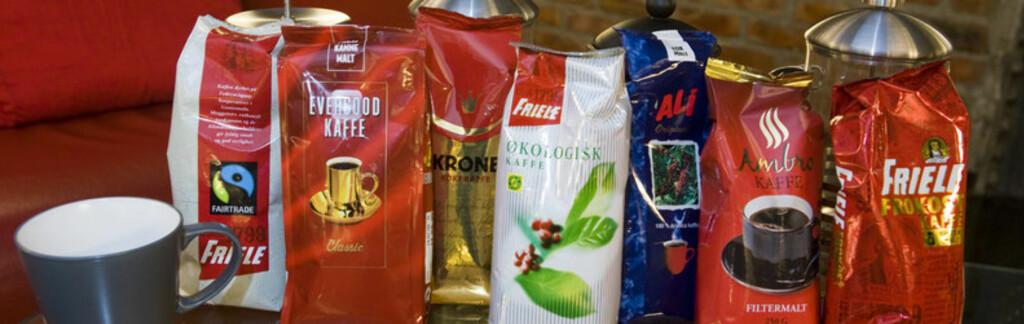 <b>Biligkaffe? </b> <a href=http://www.dinside.no/806653/eksos-oppvaskvann>DinSides blindtest av billigkaffe</a> ga ikke mersmak.