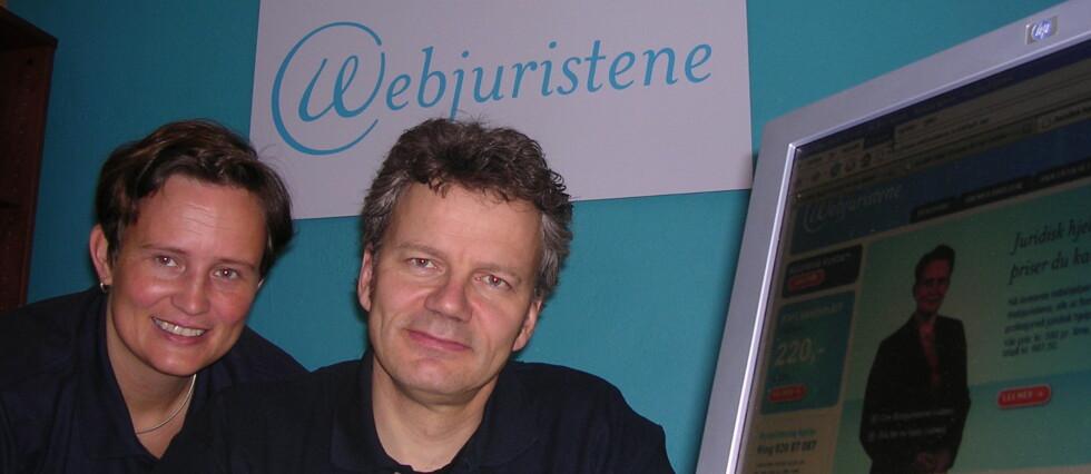 Rettshjelperne Nina Dybedahl og Carl Kjeldsberg fra Webjuristene svarer på dine juridiske spørsmål her på DinSide. Foto: Webjuristene