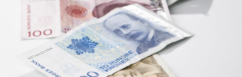 <b>BORTKASTET SPARING?</b> Lav rente <i>kan</i> gjøre sparingen lite lønnsom, om man tar prisstigningen med i regnestykket. Foto: COLOURBOX.COM