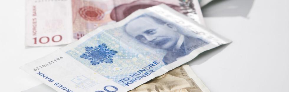 BORTKASTET SPARING? Lav rente kan gjøre sparingen lite lønnsom, om man tar prisstigningen med i regnestykket. Foto: COLOURBOX.COM
