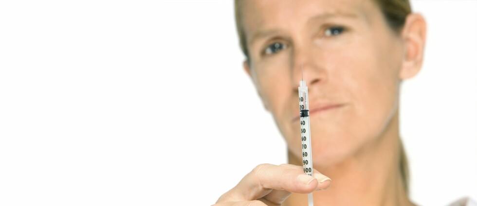 - Dette er helt sprøtt, advarer britisk plastisk kirurg. Foto: Colourbox.com