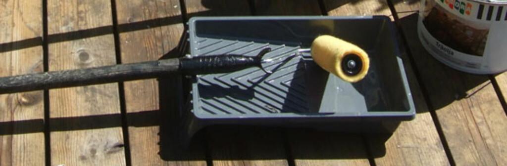 Rulle på skaft, praktisk Foto: Brynjulf Blix
