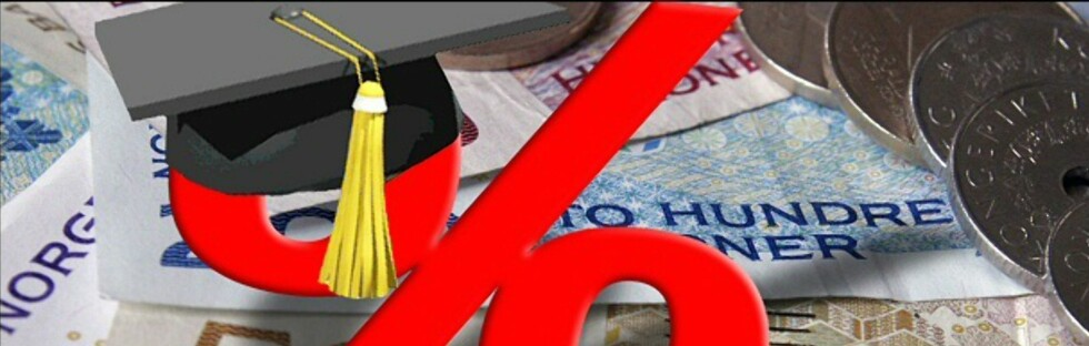 <strong><b>Billig forbrukslån:</strong> </b> En betalingsutsettelse i Lånekassen løper med samme rente som lånet forøvrig, som antakelig er det billigste lånet du har. Foto: Per Ervland