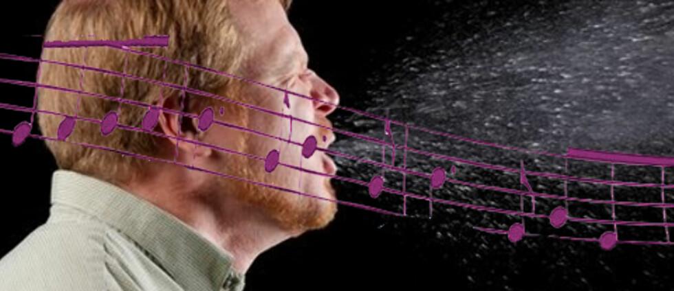 VIRUS-MUSIKK: Stephan Zielinski fra USA har laget en sang basert på virusets genetiske oppbygning, melder CNN. Foto: Science Photo Library