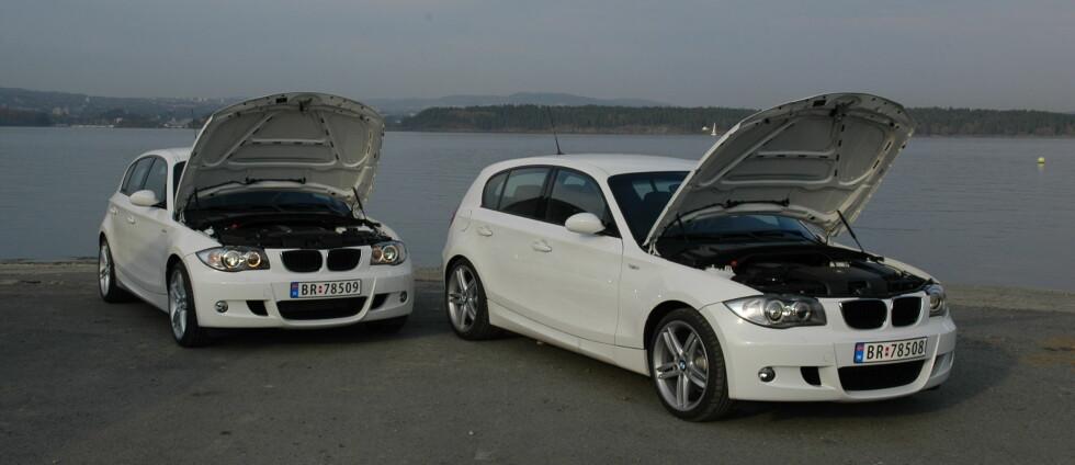 Test BMW 1-serie: Bensin mot diesel