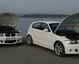 image: Test BMW 1-serie: Bensin mot diesel