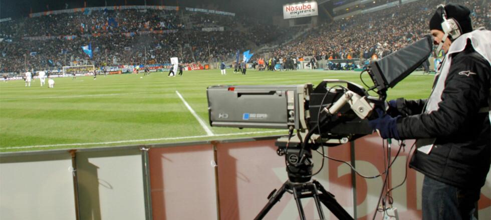 i-Movix SprintCam V3 HD i aksjon under en fotballkamp.