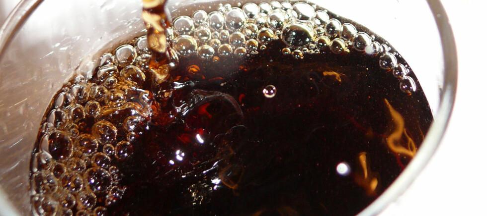 Er du også en storforbruker av cola? Foto: Colourbox