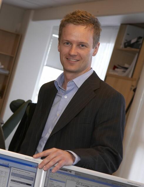 Bjørn Roger Wilhelmsen er makroøkonom i First Securities Foto: First Securities
