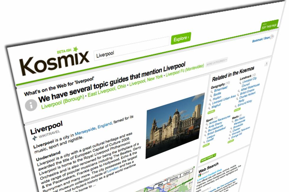 Kosmix - enda bedre enn Google?