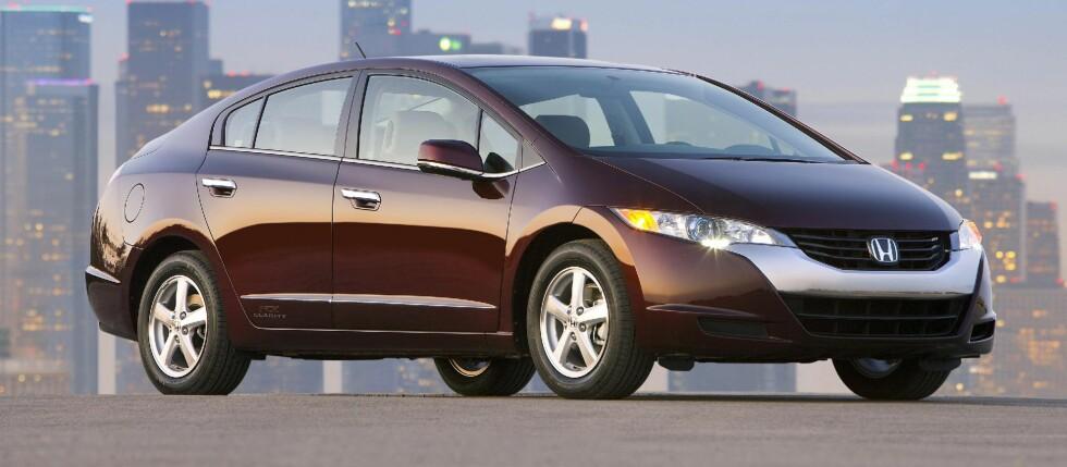 VINNEREN: Honda FCX Clarity