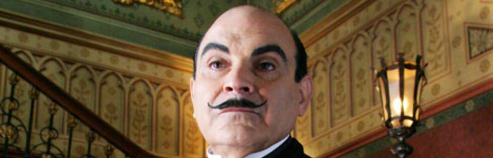 For mange er påsken synonym med krimlegender som Hercule Poirot. Foto: ITV