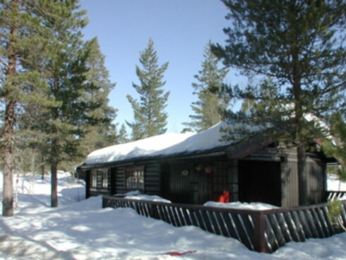 Denne hytta i Trysil er ledig hele påskeuken. Foto: Skistar-Trysil