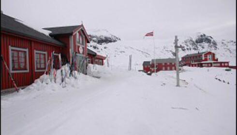 Fondsbu ønsker alle påskegjester velkommen. Foto: Helle Andresen/DNT Oslo og Omegn