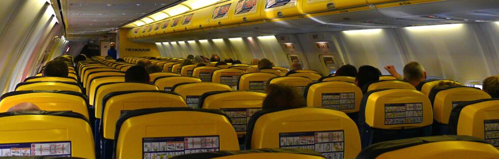 Ikke akkurat luksus ombord, men for noen er det helt greit. Hva mener du? Foto: Wikimedia Commons