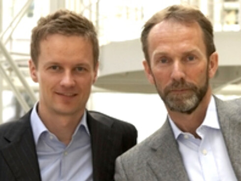Bjørn Roger Wilhelmsen (t.v.) og Harald Magnus Andreassen