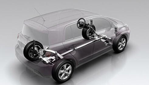 Firehjulsdrift, kjøreegenskaper og komfort