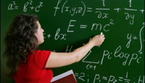 Einstein Elevene elsker det når du fyller tavlen med relativitetsteori, Pytagoras og rekker.