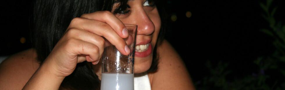 Vit hva du drikker før du prøver deg på det lokale brennevinet. Foto: Gözde Otman