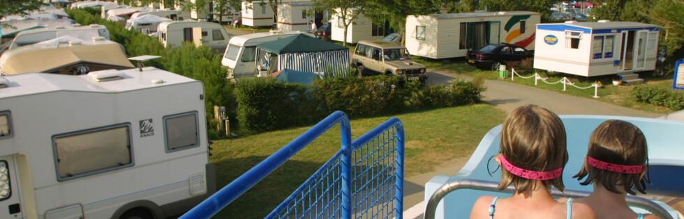 Danmark er blant de dyreste campinglandene, mens Sverige er nest billigst. Foto: Colourbox