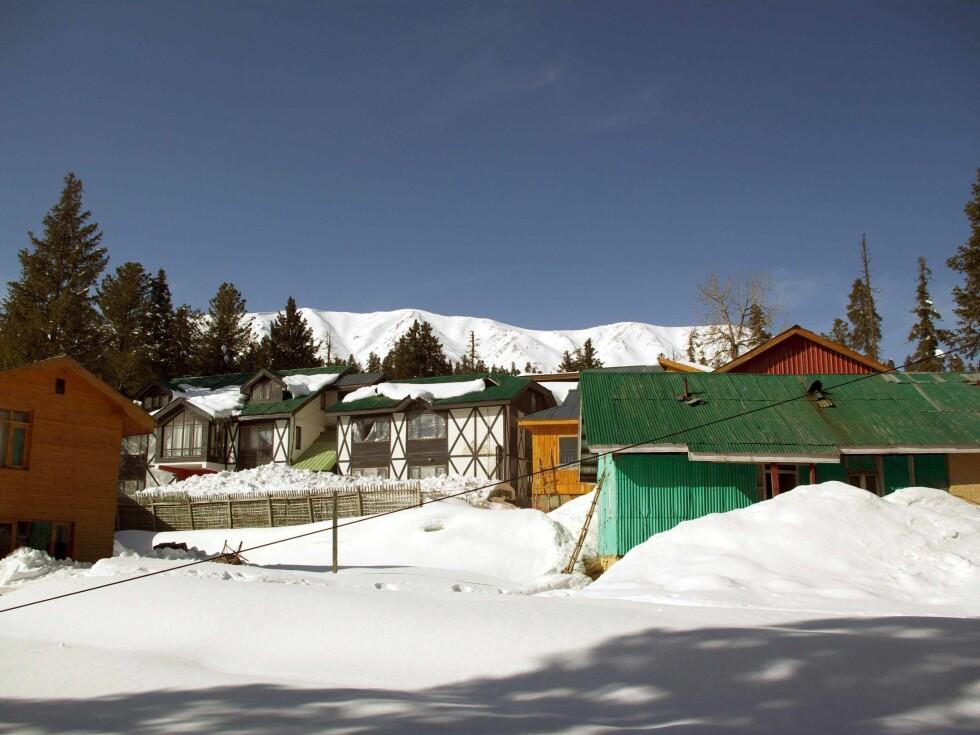 Gulmarg er Kashmirs største skisted, men det er lite som minner om Hemsedal eller Trysil... Foto: Anders Kleven