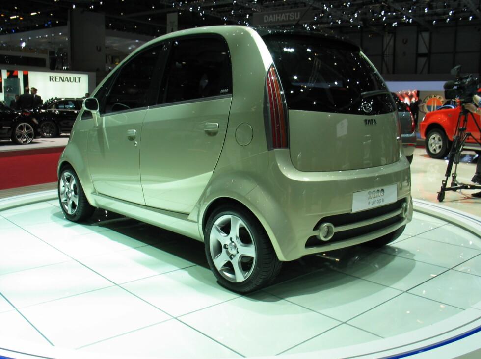 Nye Nano Europa ble vist på bilmessen i Genève i mars i år.