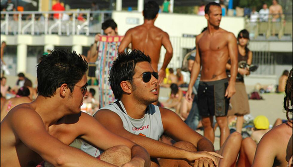 Spansk strandliv på sitt beste