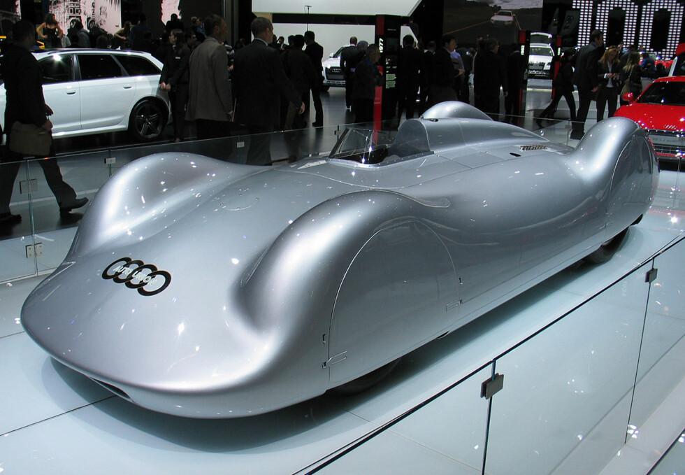 Auto-Union Type C fra 1936 Foto: Knut Moberg