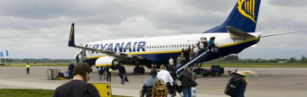 Ryanair vil nekte mindreårige