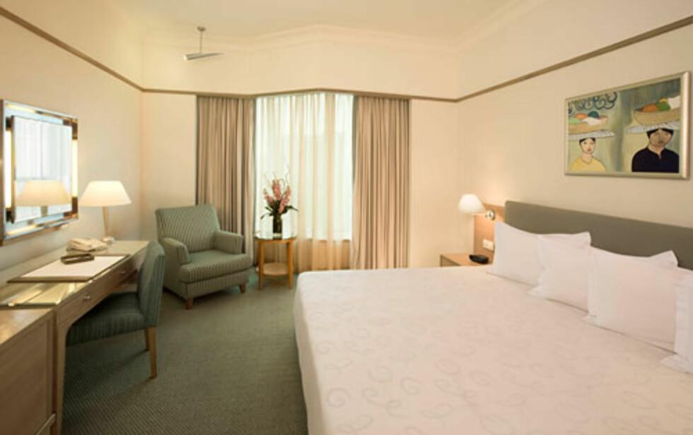 Slik ser det billigste rommet ut.  Foto: Prince Hotel & Residence Kuala
