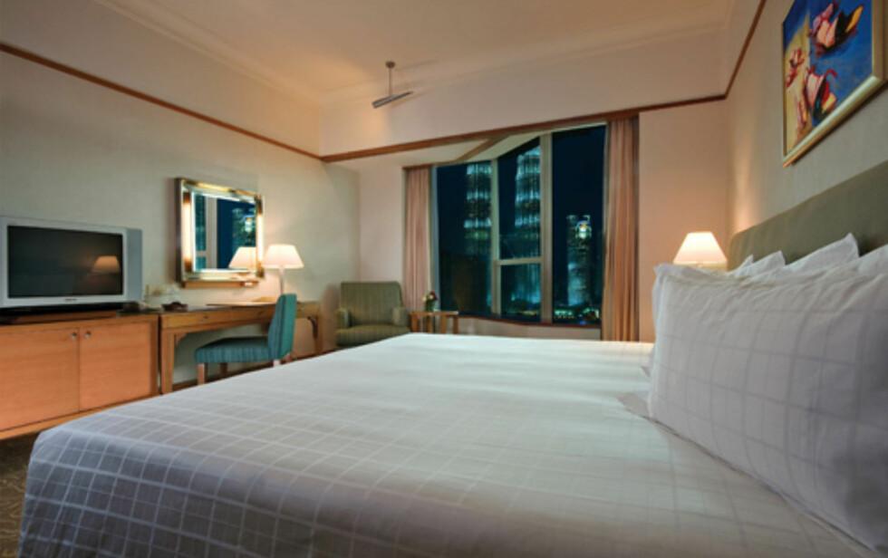 Et superior deluxe-rom - sjekk utsikten ut vinduet. Foto: Prince Hotel & Residence Kuala