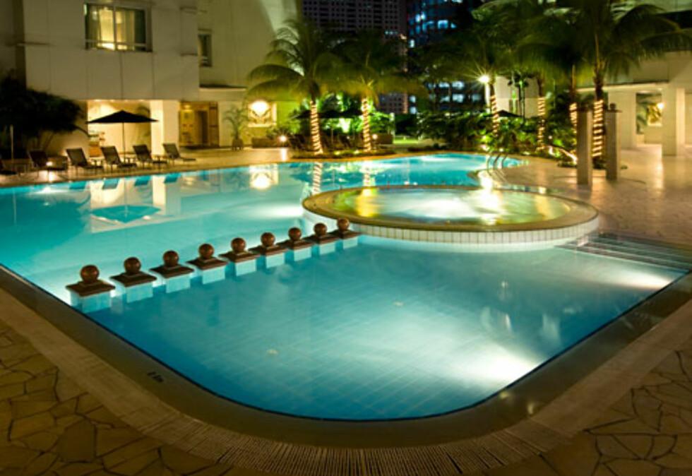 Et deilig sted å slappe av etter en slitsom dag i storbyen. Foto: Prince Hotel & Residence Kuala