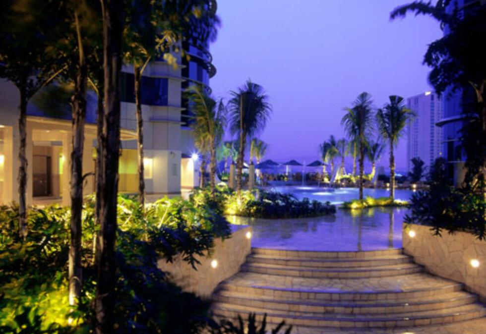 En tropisk hage rundt 100 meter over bakken. Ganske kult. Foto: Prince Hotel & Residence Kuala