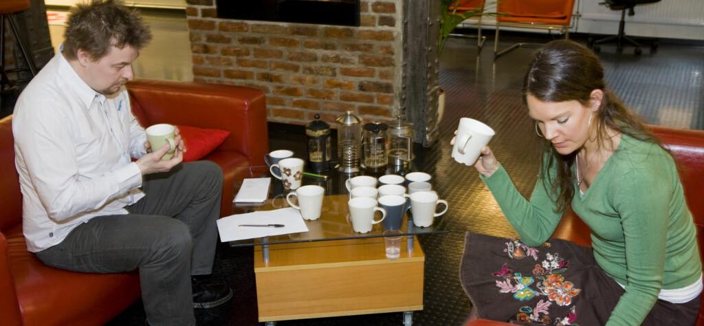 Det var få glade ansikter da vi testet de billigste kaffene.