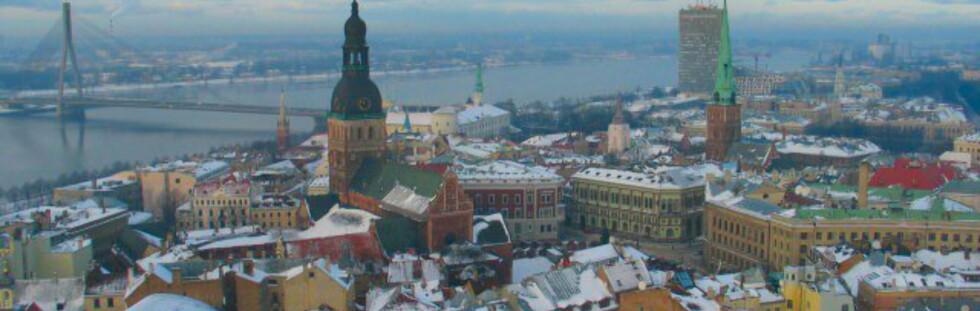 Riga er mest kjent for gamlebyen, som står på Unescos verdensarvliste. Foto: MP