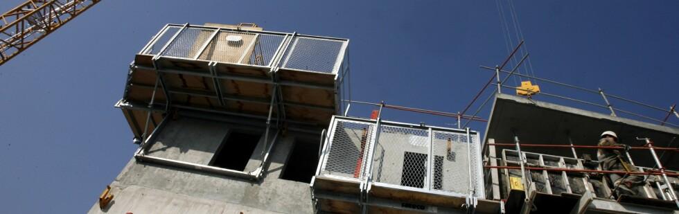 Det selges forsvinnende lite nye boliger.  Foto: Colourbox.com