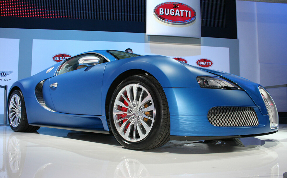 Bugatti Veyron Centenaire med 1.400 hester og toppfart 440 km/t! Foto: Knut Moberg