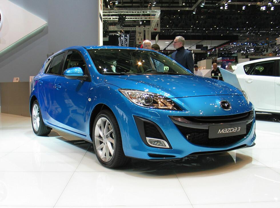 Nye Mazda 3 Foto: Knut Moberg