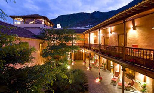 Plazaen inne i La Quinta Roja.  Foto: quinataroja.com