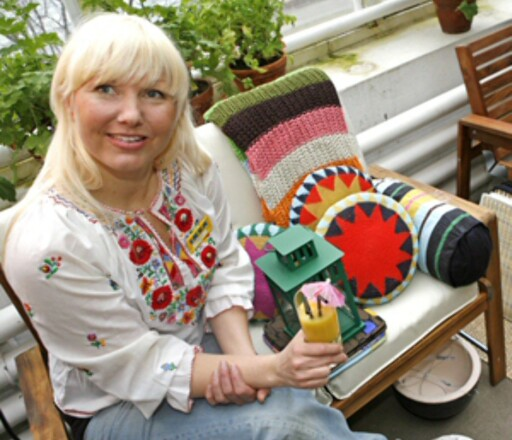 Camilla Gjerset, trendansvarlig i Ikea.  Foto: Per Ervland