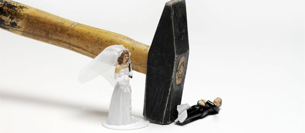 Bryllupsforsikringen dekker mye, men ikke alt. Foto: Colourbox.com
