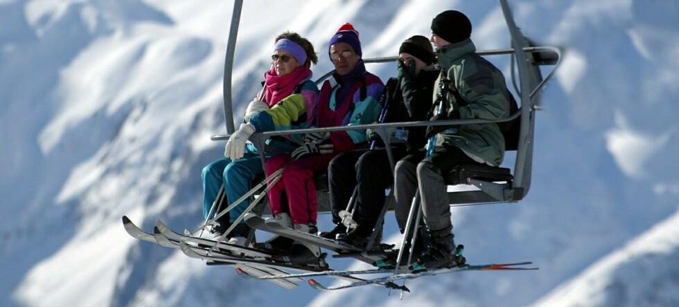 Bratt priskurve for skisentrene ...  Foto: Colourbox